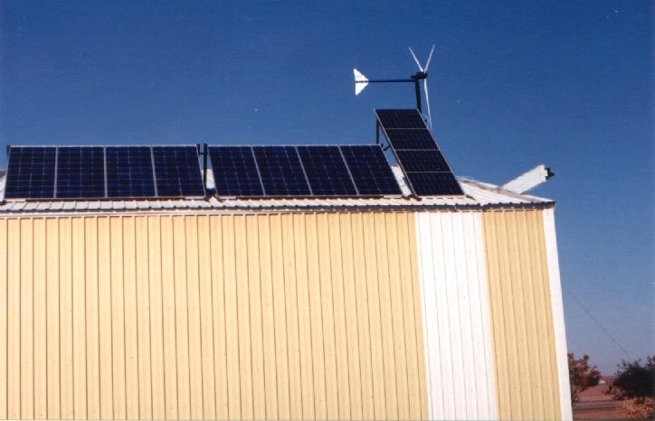 1200 Watt Solar Array